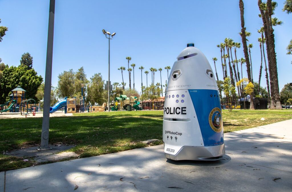 Interview with William Santana Li's Crime-fighting Fully Autonomous Security Robots