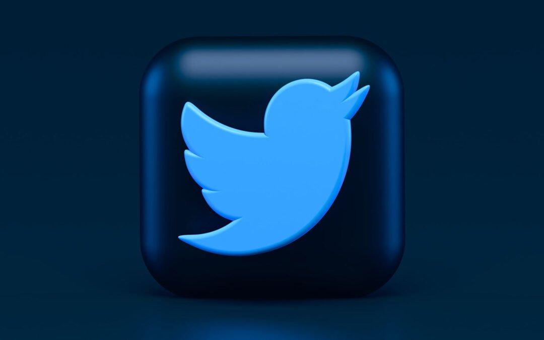 Twitter logo Photo by Alexander Shatov on Unsplash